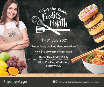 Foodies Month at The Heritage